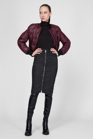 Женская черная юбка D-ELBEE-NE SKIRT Diesel