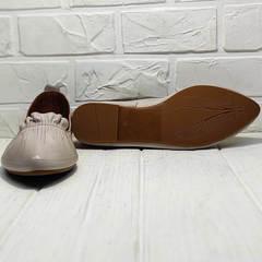 Женские лодочки туфли на плоской подошве женские Wollen G036-1-1545-297 Vision.