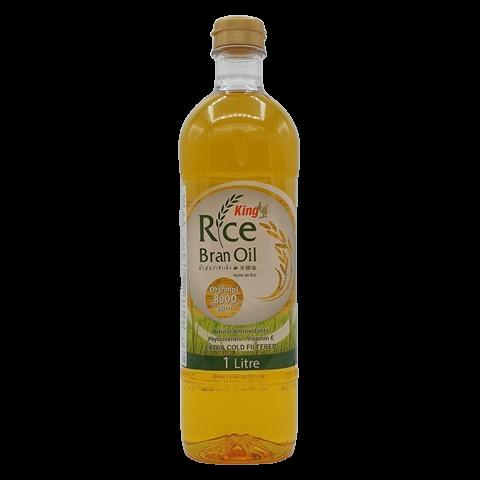 Масло рисовых отрубей рафинированное KING ISLAND, 1 литр