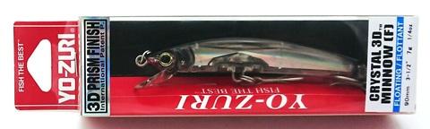 Воблер Yo-Zuri Crystal 3D Minnow 90 F / F1145-C4