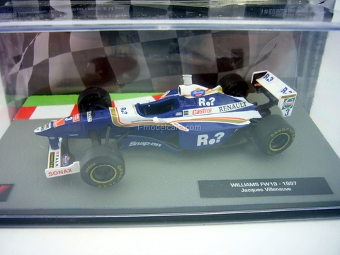 Williams FW19 1997 Jacques Villeneuve F1 1:43 Formula 1 Auto Collection Centauria #5