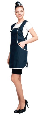 Униформа ЛИНИЯ-Ю синий-бежевый