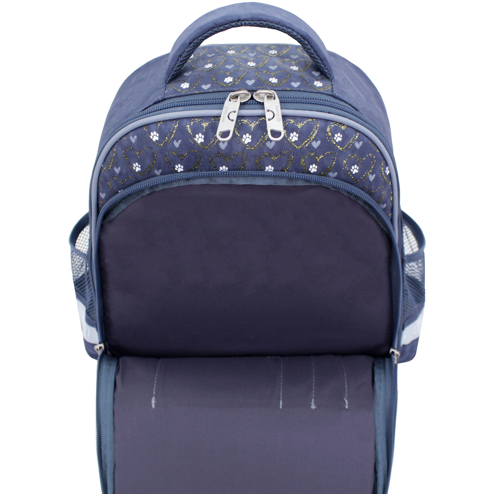 Рюкзак школьный Bagland Mouse 321 серый 165 (0051370) фото 4