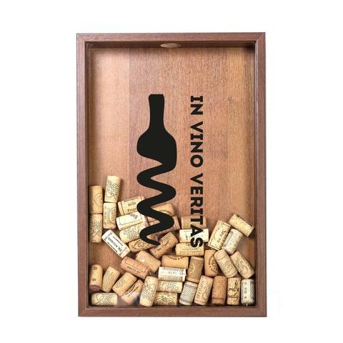 Копилка для винных пробок In Vino Veritas Орех