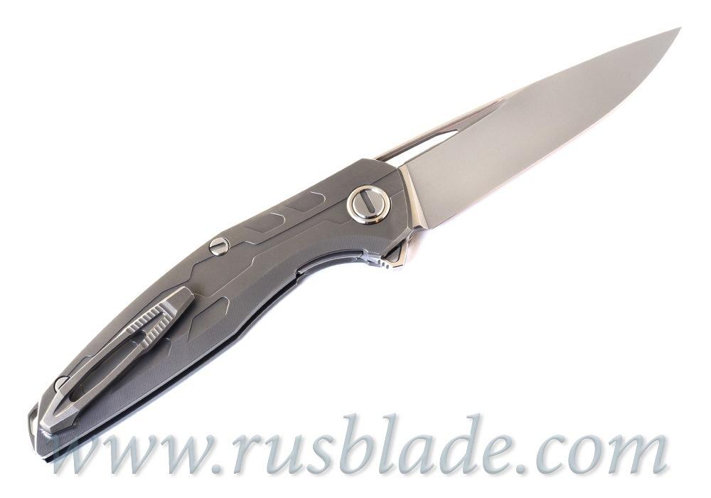 CUSTOM Shirogorov 111 Ti KNIFE S90V SRRBS - фотография