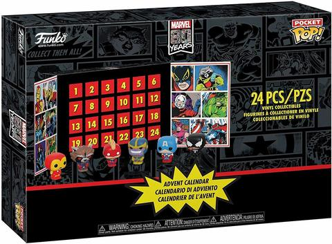 Фигурка Funko Vinyl Figure: Advent Calendar: Marvel 24pc (Pkt POP)