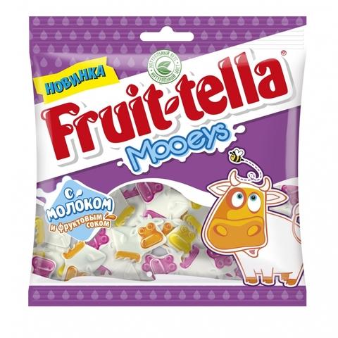 Мармелад жев FRUIT-TELLA Jellies Mooeys 138 г Perfetti Van Melle РОССИЯ