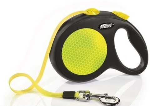 Flexi поводок-рулетка New Neon L (до 50 кг) лента 5 м