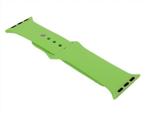 Ремешок для Apple Watch 38mm/40mm силиконовый | салатовый