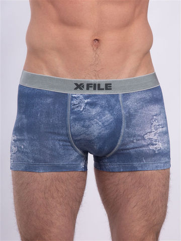 Мужские трусы Denim Boxer X-File