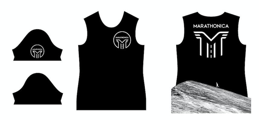 Футболка клубная GRi marathonica, черная, женская