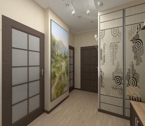 Шкаф двухдверный, ширина 140 см
