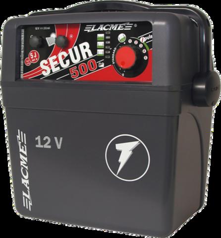 Электропастух Secur 500 для овец, КРС, лошадей, свиней, коз и защиты от диких животных, аккумуляторный, до 350 км, фото