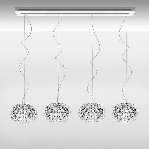 Подвесной светильник копия CABOCHE piccola by Foscarini (прозрачный)