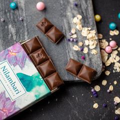 Шоколад Nilambari  на овсяном молоке с ванилью, 65 г