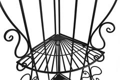 Этажерка угловая Secret De Maison 001 (Черная) — черный