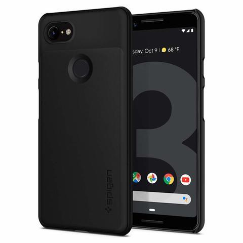 Чехол Spigen Thin Fit для Google Pixel 3 Case (2019) - Black