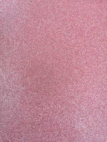 Глиттерный фоамиран 20х30х2 мм светло-розовый