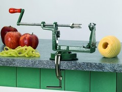 Яблокочистка Pele Pomme Trancheur Matfer (присоска и кронштейн)