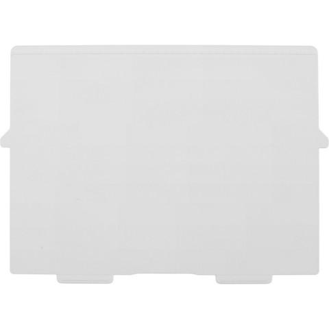 Разделитель для картотеки Exacompta горизонтальный пластиковый (A4, 2 штуки в упаковке)