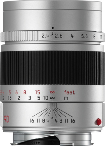 Leica Summarit-M 90mm f/2.4 Silver