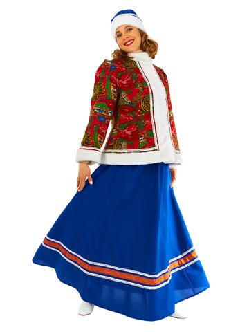 Карнавальный костюм взрослый Масленица утепленная