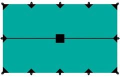 Тент Tramp 4*6м (зеленый)