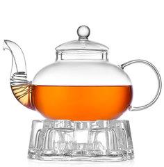 Стеклянный заварочный чайник с подогревом от свечи Orchid 800 мл