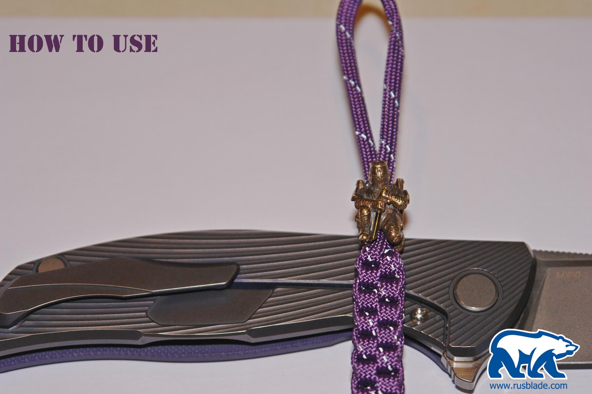 """Custom Sword Knot """"Dragonborn"""" Limited Edition - фотография"""