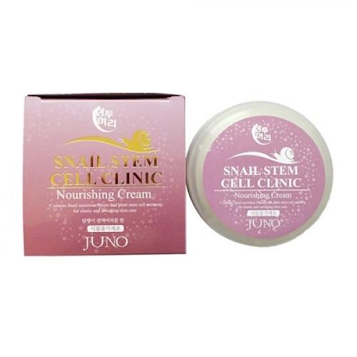 Крем для лица питательный с экстрактом улитки Juno Sangtumeori Stem Cell Clinic Nourishing Cream Snail 100мл