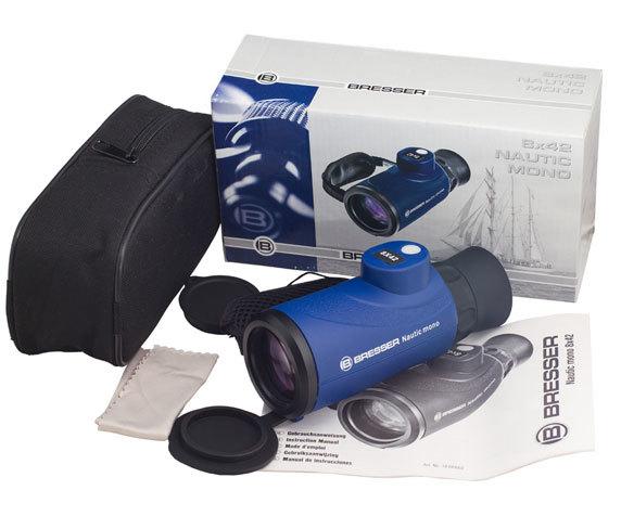 Комплект поставки монокуляра Nautic 8 42