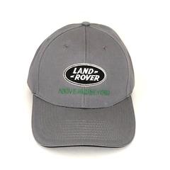 Кепка с вышитым логотипом Ленд Ровер (Кепка Land Rover) серая
