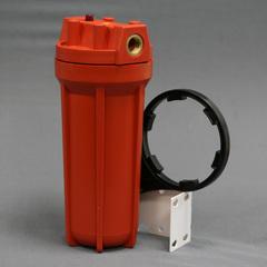 """Комплект PS 891O1-О12-PR-BN (колба рыжая, вход 1/2"""", для гор.воды, картридж), Райфил"""