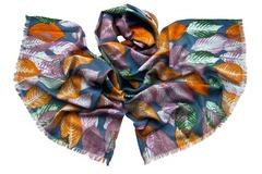 Шерстяной женский  палантин разных цветов (0951 PAL 8)