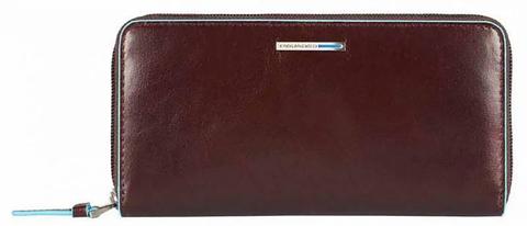 Кошелек Piquadro Blue Square, коричневый, 18х9,5х2,5 см