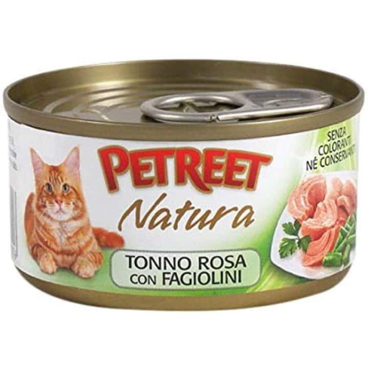 Petreet Кусочки розового тунца с зелёной фасолью