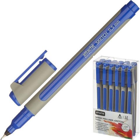 Линер Attache Selection Sketch синий (толщина линии 0.5 мм)