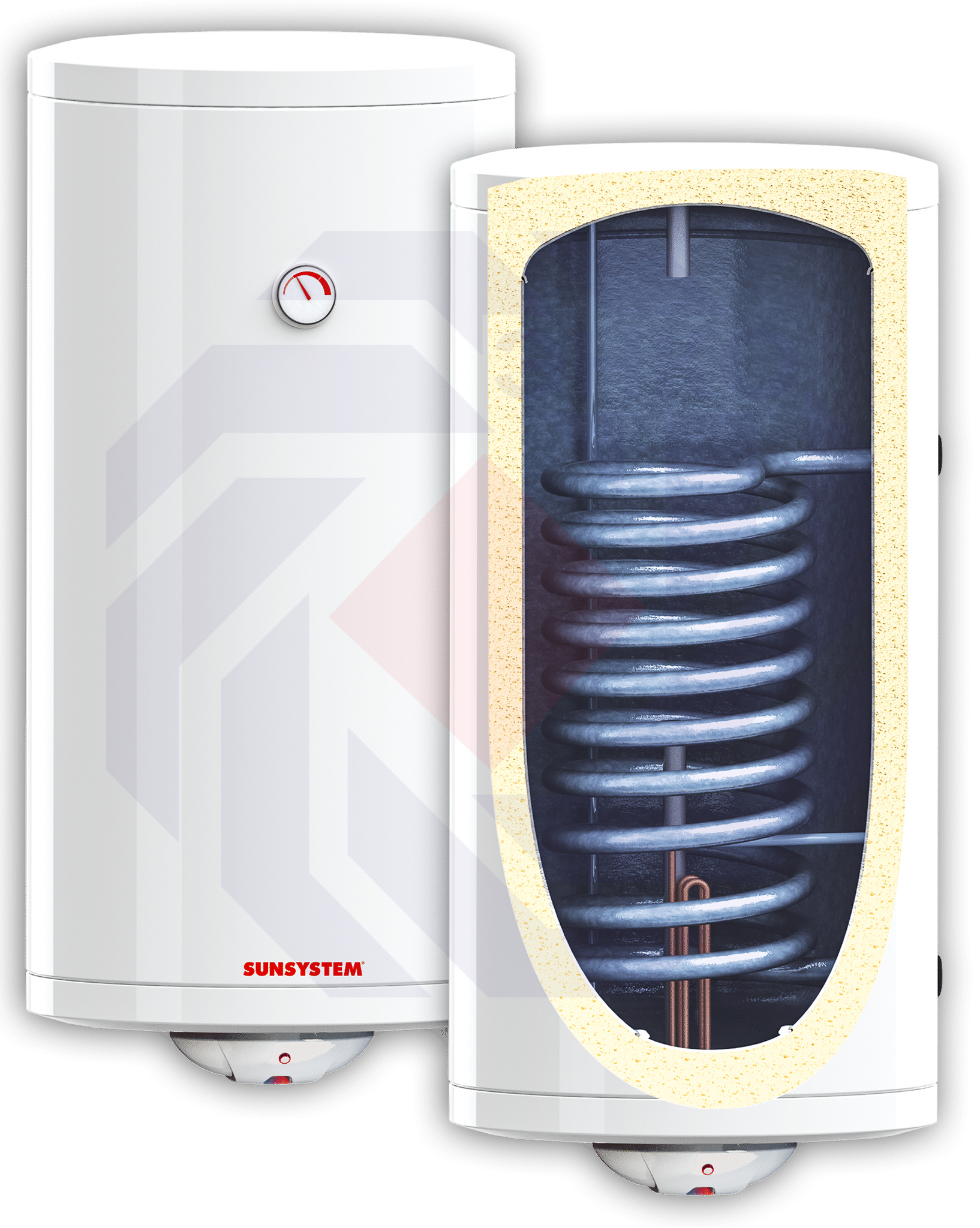 Бойлер настенный SUNSYSTEM BB V S1 120 левый