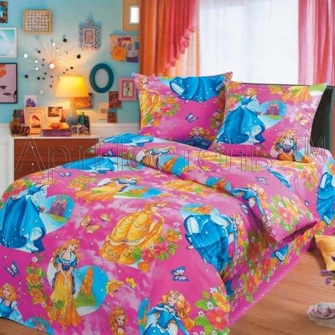 Комплект постельного белья Царевна Бязь 150 см