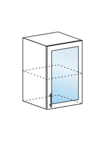 Шкаф верхний со стеклом 500