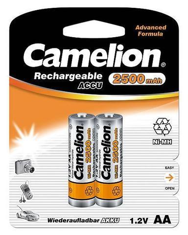 Аккумуляторы CAMELION R 6/2bl 2500 mAh Ni-MH