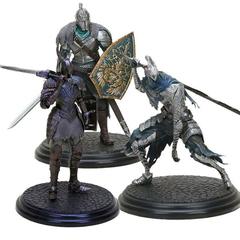 Темные души фигурки Рыцарь Фараам, Арториас и Черный Рыцарь