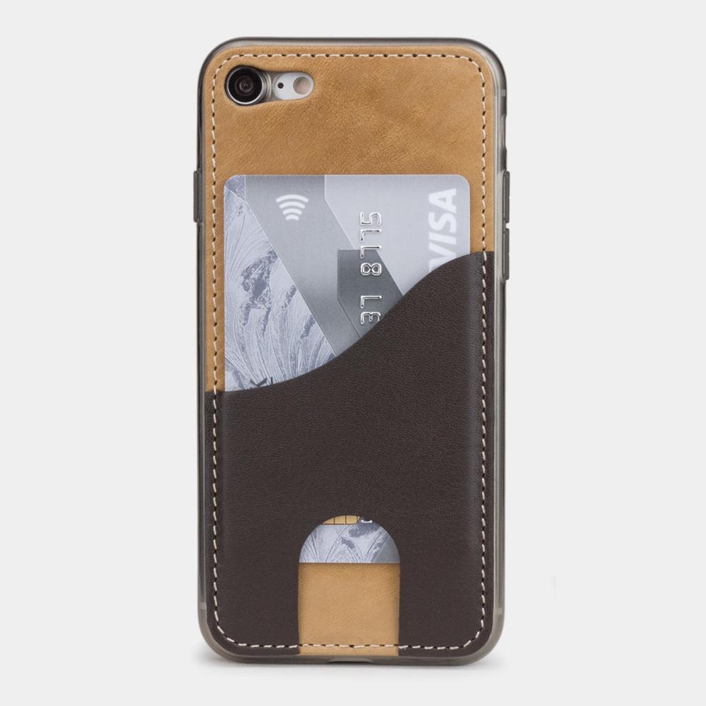 Чехол-накладка Andre для iPhone 7 из натуральной кожи теленка, цвета винтаж