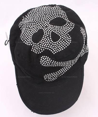 Бейсболка ZAN Highway Honey Skull Studs