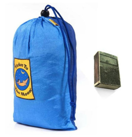 Картинка пляжное покрывало Ticket to the Moon Beach Blanket Navy/Turquoise - 3