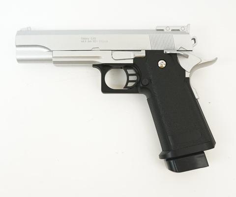 Страйкбольный пистолет Galaxy G.6S Colt металлический, пружинны