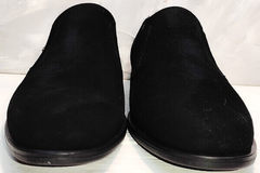 Стильные мужские туфли без шнурков Ikoc 3410-7 Black Suede.