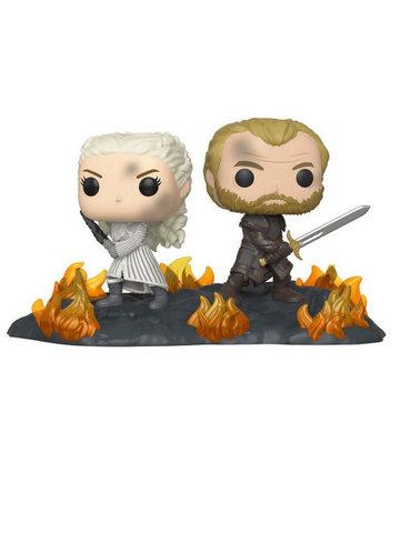 Фигурка Funko POP! Vinyl: Movie Moment: Game of Thrones: Daenerys & Jorah B2B w/Swords 44824