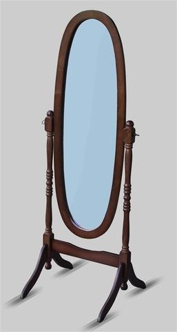 Зеркало напольное MS-8007-w (Орех)