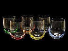 Набор цветных стаканов для виски Rona «Rainbow», фото 1